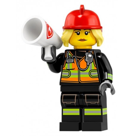 LEGO® Minifig - Fire Fighter 71025