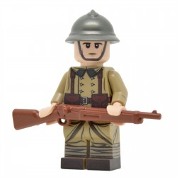 Lego United Bricks - WW2 Infanterie Française Minifigure