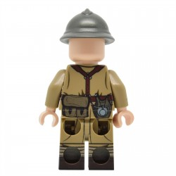 Lego United Bricks - WW2 French Infantry (Version 2) Minifigure