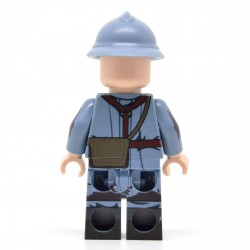 Lego United Bricks - WW1 French Trench Raider Minifigure