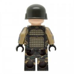 Lego United Bricks - Soldat Français moderne Minifigure