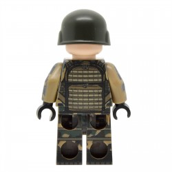 Lego United Bricks - Modern French Soldier Minifigure
