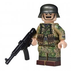 Lego United Bricks - WW2 German in Spring Dot 44 (STG44)