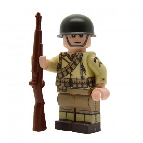 Lego United Bricks - WW2 U.S. Army Ranger Minifigure