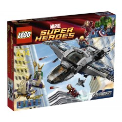 LEGO Super Heroes 6869 - Le combat aérien en Quinjet (La Petite Brique)