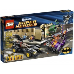 Lego SUPER HEROS 6864 - La poursuite de Double-Face en Batmobile (La Petite Brique)