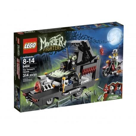 Lego MONSTER FIGHTERS 9464- Le corbillard du vampire (La Petite Brique)