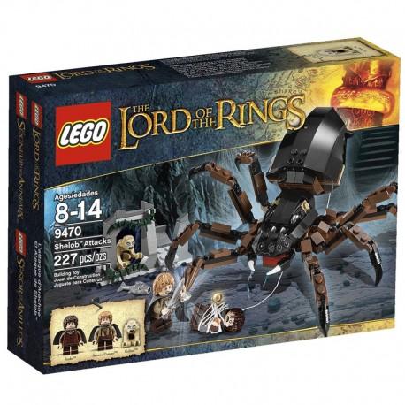 Lego The Lord Of The Rings 9470 - L'attaque d'Arachne (La Petite Brique)