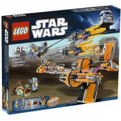 7962 - Anakin Skywalker & Sebulba's Podracers