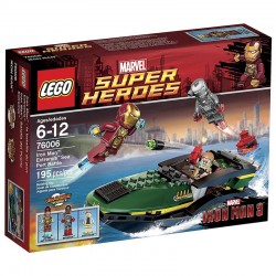 76006 - Iron Man: Extremis Sea Port Battle