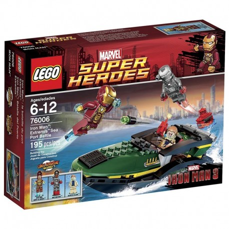 76006 - Iron Man: Extremis Sea Port Battle