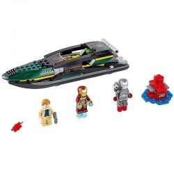 Lego 76006 - Iron Man : la bataille du port Extremis (La Petite Brique)
