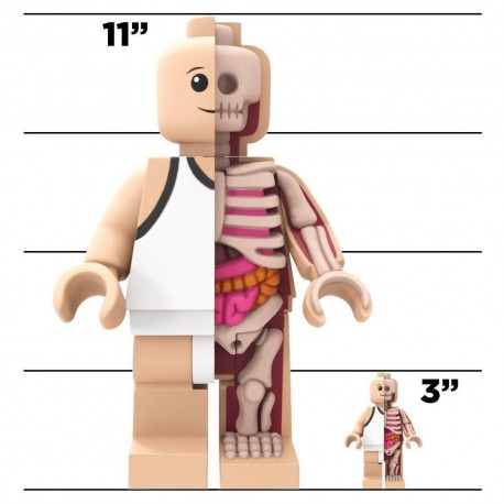 Lego Bigger Micro Anatomic par Jason Freeny & Mighty Jaxx