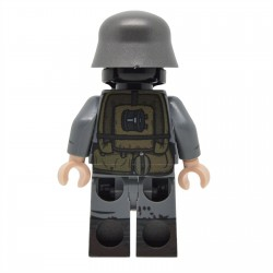 Lego United Bricks - WW1 German Soldier with Gasmask Minifigure