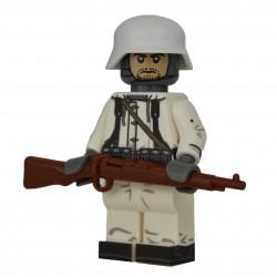 United Bricks - WW2 Winter German Rifleman Minifigure