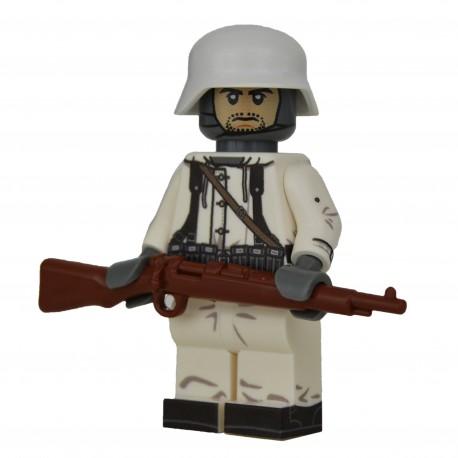 United Bricks - WW2 Soldat Allemand Hiver Rifleman Minifigure