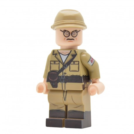 United Bricks - WW2 Japanese Kempeitai Officer Minifigure