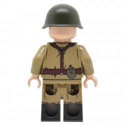 United Bricks - Soldat Soviétique de la Guerre Froide Minifigure