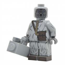United Bricks - Cold War Soviet Soldier in NBC Suit Minifigure