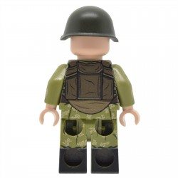United Bricks - Parachutiste Soviétique (Guerre URSS/Afghanistan) Minifigure