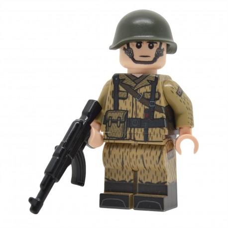 United Bricks - Soldat Est-Allemand de la Guerre Froide Minifigure