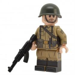 United Bricks - Soldat Soviétique (Guerre URSS/Afghanistan) Minifigure