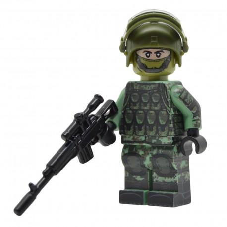 United Bricks - Soldat Russe Spetsnaz Minifigure