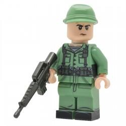 United Bricks - Soldat Américain de la Guerre Froide Minifigure
