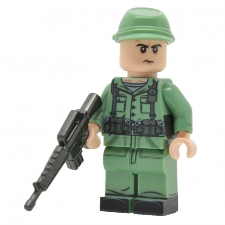 United Bricks - Cold War U.S. Soldier Minifigure