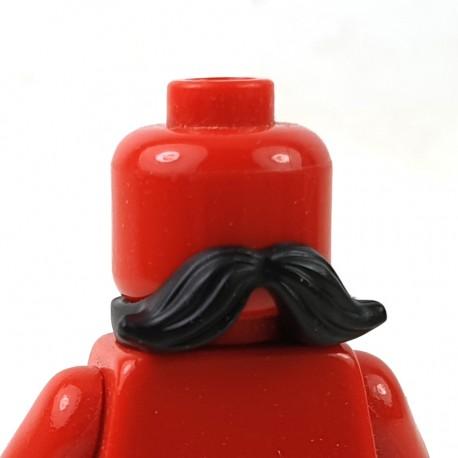 LEGO® - Black Minifigure, Beard, Moustache