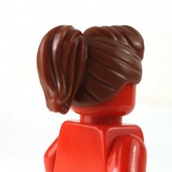 LEGO® - Reddish Brown Minifigure, Hair Female Ponytail & Fringe