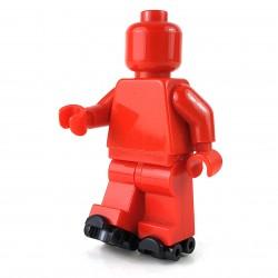 LEGO® Black Minifigure, Footgear Roller Skate