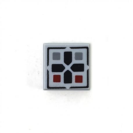 LEGO® Tile 1x1 Croix et Boutons