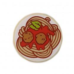 LEGO® Tan Tile Round 2x2 Spaghetti Meatballs