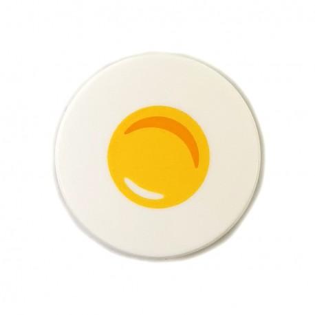 LEGO® Tile Round 2x2 Sunny Side Up Egg