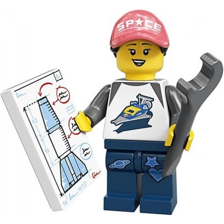 LEGO® Série 20 - la fan de l'espace - 71027