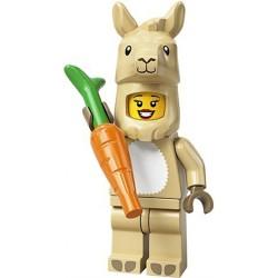 LEGO® Série 20 - la fille en costume de lama - 71027