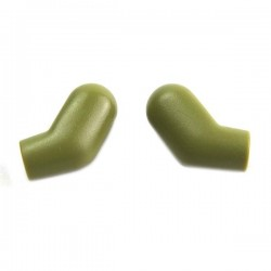 Olive Green Arms, (Left and Right) Pair