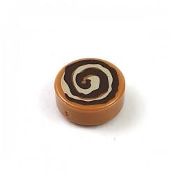 LEGO® - Tile Round 1x1 - Cinnamon Roll