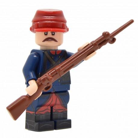 United Bricks - WW1 French Soldier (Early War) Minifigure