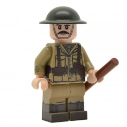 United Bricks - WW1 British Officer Minifigure