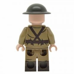 United Bricks - WW1 Officier Britannique Minifigure