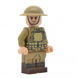 United Bricks - WW1 Soldat Américain Minifigure