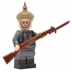 United Bricks - WW1 Soldat Allemand (début de la guerre) Minifigure