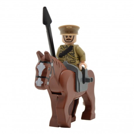 Lego United Bricks - WW1 Lancer Britannique Minifigure