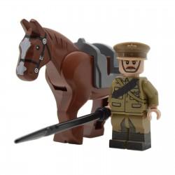 Lego United Bricks - WW1 Lancer Britannique Minifigure