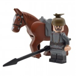 Lego United Bricks - WW1 Uhlan Allemand Minifigure