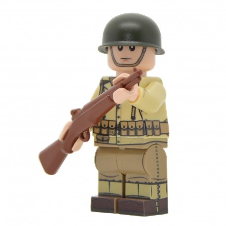 United Bricks - WW2 U.S. Army Rifleman Minifigure