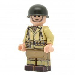 United Bricks - WW2 U.S. Army Rifleman Minifigure