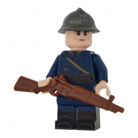 Lego United Bricks - WW2 Milicien Français de Vichy Minifigure